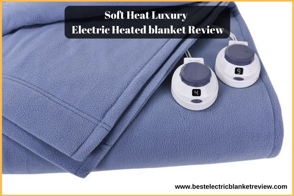 Soft Heat Luxury Micro-Fleece, Low-Voltage Electric Heated, Queen Size Review
